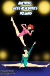 'Anything goes Acrobatics Train' by