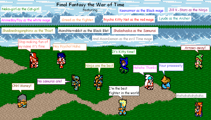 Final Fantasy the War of Time