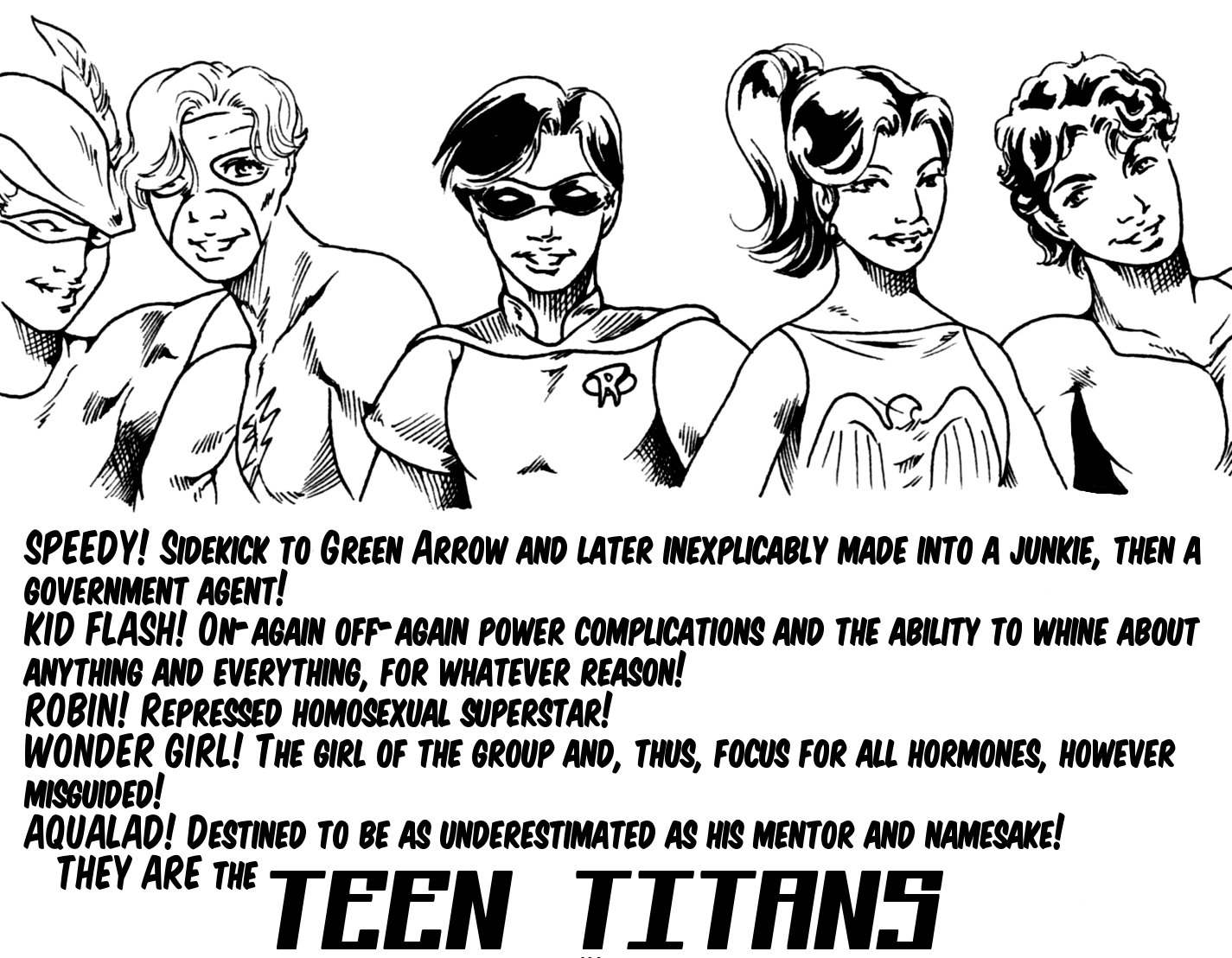 Not Quite the Teen Titans