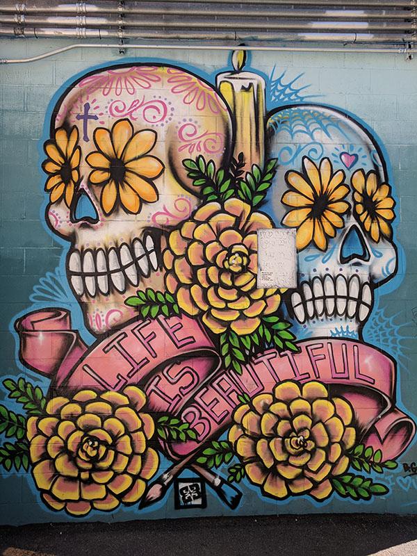 Freak alley street art