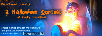 Halloween Art and Writing contest