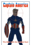 'Captain America- The man with the Loaded gun' by