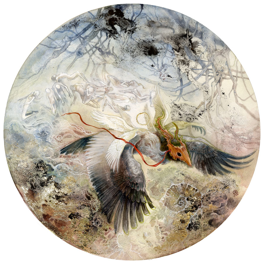 On Silent Wings artwork by Stephanie Law